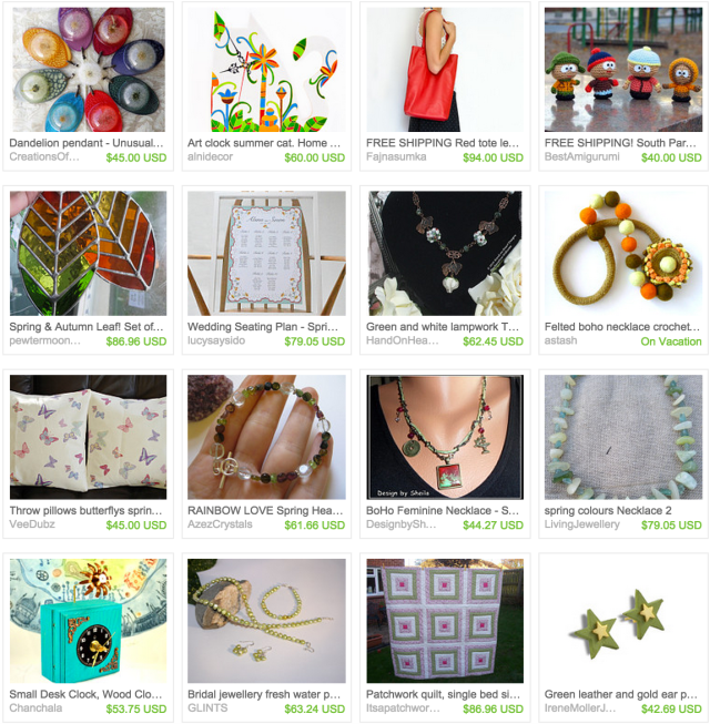 Great gifts#33 treasury on Etsy